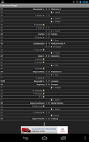 Screenshot of Football Livescore Widget