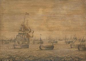 RIJKS: Pieter Vogelaer: painting 1700