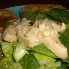 Lime-Garlic Chicken and Spinach Salad