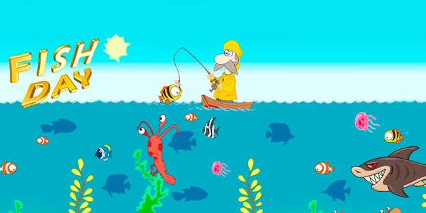 Game fish day apk for windows phone android games and apps for Fishing game app