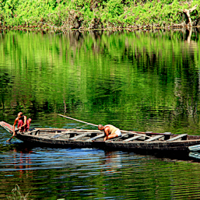Greenery  by Sadat Hossain - Transportation Boats (  )