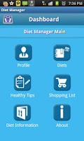Screenshot of Diet Manager