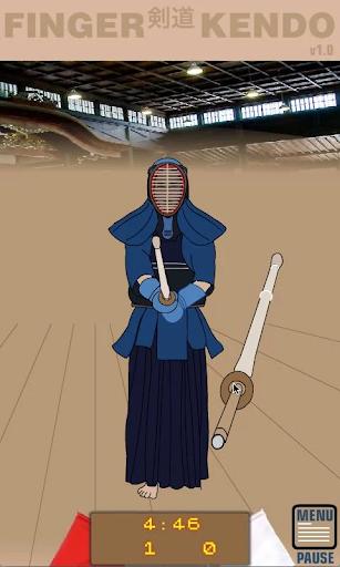 Finger Kendo - screenshot