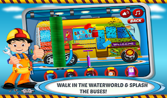 Screenshot of School Bus Wash & Garage : Car
