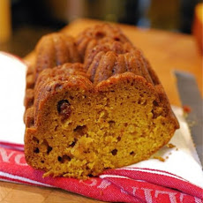 Pumpkin Cranberry Quick Bread