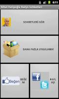 Screenshot of Nihat Hatipoğlu Sohbetleri