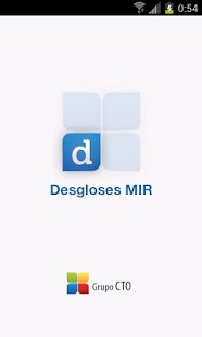 Desgloses MIR - screenshot