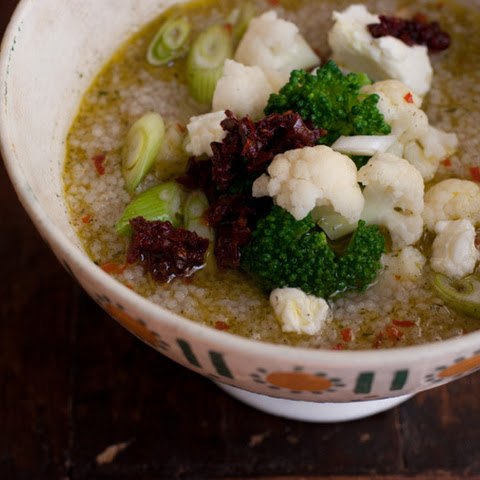Ten Minute Couscous Soup