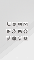 Screenshot of White - Icon Pack