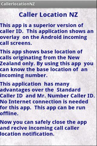 Caller Location New Zealand