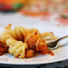 Baked Mac & Cheese with Marinara