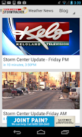 Screenshot of KELOLAND Storm Tracker
