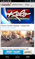 Screenshot of KELOLAND Storm Tracker