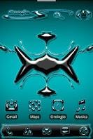 Screenshot of ADW Alien Abstract Aqua Theme