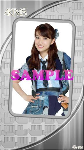 AKB48きせかえ 公式 大島優子ライブ壁紙-3J-