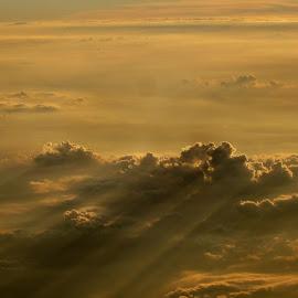 Sun Shadows by Harris Kalofonos - Landscapes Cloud Formations