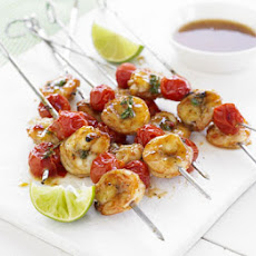 Fiery Prawn Skewers