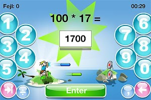 Screenshot of SkoleMat Level 3 gratis