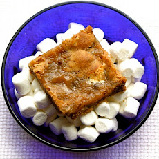 Marshmallow Blondies