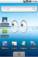 Screenshot of Xeyes Widget