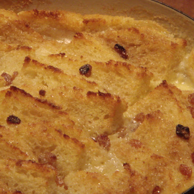Dreaming of Bread and Butter Pudding