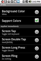 Screenshot of JFrotz