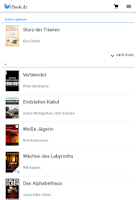 Screenshot of eBook.de READER