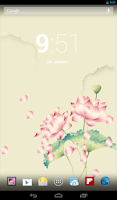 Screenshot of Real Lotus Live Wallpaper