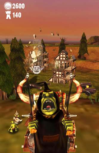 Warhammer: Snotling Fling - screenshot