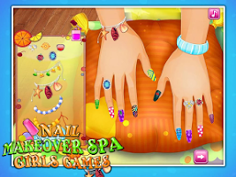 Screenshot of Nail Makeover Spa Free Games