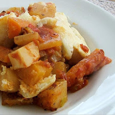 Root Vegetable Cobbler