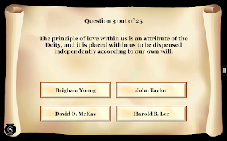 Screenshot of LDS Scripture Mastery Pro