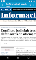 Screenshot of Uruguay Noticias