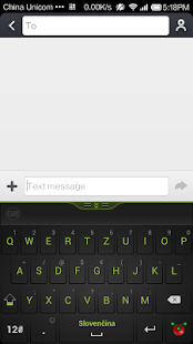 Guobi Slovak Keyboard - screenshot