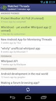 Screenshot of Whirldroid - Whirlpool Forums