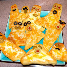 Cheesy Crescent Ghosts