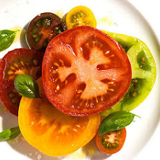 Sliced Tomato Salad