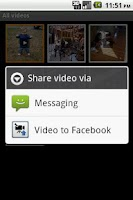 Screenshot of Video to Facebook (Ad-Free)