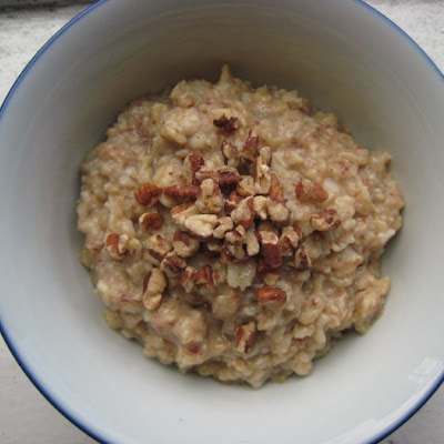 Maple Pecan Oatmeal
