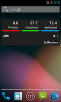 Screenshot of BioRhythms
