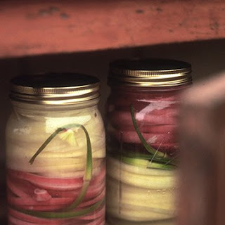 Quick Pickled Vidalia and Red Onions