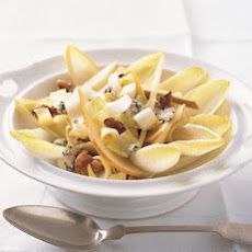 Endive with Pears, Walnuts, and Roquefort