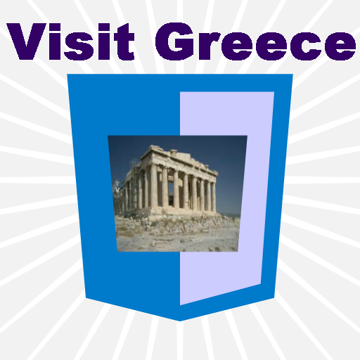 Visiting Greece Travel Guide LOGO-APP點子