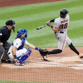 home run swing by JERry RYan - Sports & Fitness Baseball