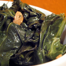 Collard Greens With Pecans (Vegan)