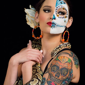 MissKillaBee by Johanna Bubela - People Body Art/Tattoos ( sugar skull )