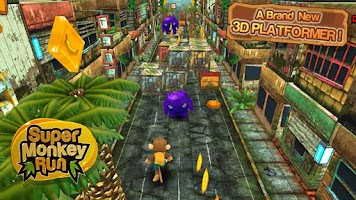 Screenshot of Super Monkey Run