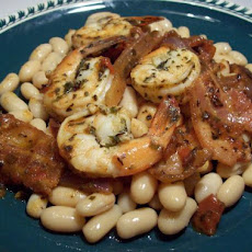 The Cannellini Bean Marries the Pink Shrimp - Longmeadow Farm