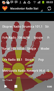 Macedonian Radio Stations - screenshot