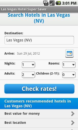 Las Vegas Hotel Super Saver